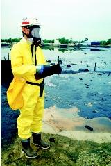 Hazardous waste sites require remediation to contain and prevent the further spread of toxic chemicals into the environment. Following removal of the contaminant source, natural attenuation and bioremediation are two components of cleanup strategies.