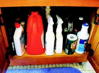 Using common household cleaning products sends chemicals down the drain and ultimately into a receiving waterbody. Scientists are concerned about the unknown impacts of consumer chemicals on the environment and human health.