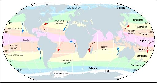 climatic zones of world. Climate Zones