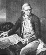 Captain James Cook is considered one of the world's greatest explorers. His voyages took him around the world.