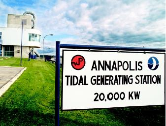 The Annapolis Tidal Generating Station in Nova Scotia, Canada is capable of generating 30 million kilowatt-hours annually—enough to power 4,000 homes—by using tidal energy in the Bay of Fundy. It is one of only two commercial producers of electricity from tidal power; the second one is located in France.