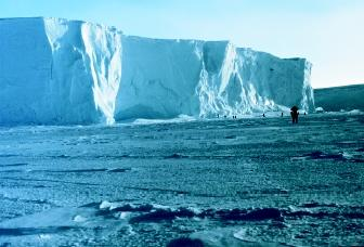 The vast ice sheets of Greenland and Antarctica provide the oldest records of ancient climatic conditions. Physical and chemical characteristics of deep ice layers give scientists information regarding the environment in which the ice formed.
