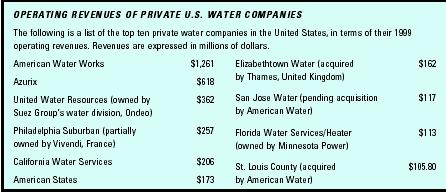 Privatization of Water Management
