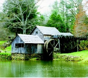 Mills and waterwheels were commonly found along streams early in U.S. history. As energy demands increased and mills grew in size, dams were built upstream to store water that could be released to create stronger currents. This practice slowed the water for others, and many states enacted dam mill acts, which allowed such storage dams as long as they did not hurt the existing smaller mills, which were viewed as having a prior right.