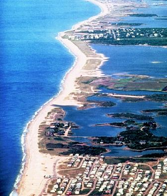 A rise in sea level would affect low-lying land areas along coasts, including river deltas and barrier islands. Barrier islands, which lie between the ocean and the mainland, often are heavily populated despite their susceptibility to inundation and erosion.